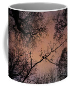 Winter Tree Canopy Coffee Mug