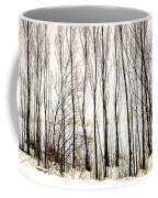 Winter Tree Fence 13283 Coffee Mug