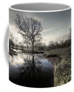 Winter Tree On The River Culm Coffee Mug