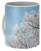 Winter Tree Scene Coffee Mug