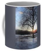 Winter Tree Sunset Coffee Mug
