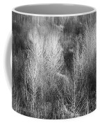 Winter Trees  B And W 1 Coffee Mug