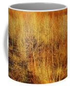 Winter Trees Color 4 Coffee Mug