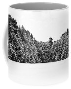 Winter Trees Mink Brook Hanover Nh Coffee Mug by Edward Fielding
