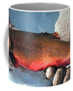 Winter Trout Coffee Mug