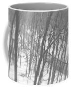 Winter Urban Wood Coffee Mug
