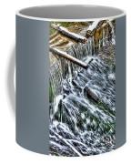 Winter Waterfall 2 Coffee Mug