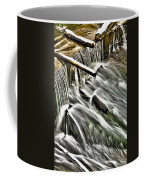 Winter Waterfall Coffee Mug