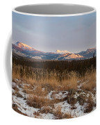 Winter Wilderness Landscape Yukon Territory Canada Coffee Mug
