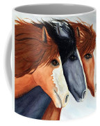 Horse Trio Coffee Mug