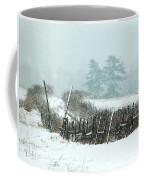 Winter Wonderland - Amazing Winter Landscape With Snow Falling Coffee Mug