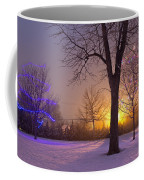 Winter Wonderland - Holiday Square - Casper Wyoming Coffee Mug