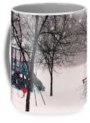 Winter Wonderland In Park Coffee Mug