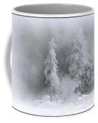 Winter Wonderland Of Yellowstone Coffee Mug