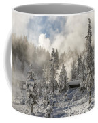 Winter Wonderland - Yellowstone National Park Coffee Mug