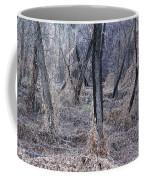 Winter Woods In Missouri 1 Coffee Mug