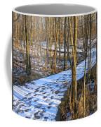 Winter Woods Walk Coffee Mug