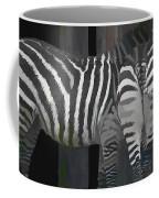 Winter Zebras Coffee Mug