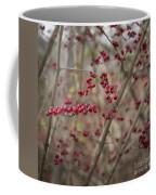 Winterberries Squared Coffee Mug
