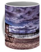 Winters Beach Solitude Coffee Mug