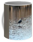 Winter's Blue Heron Coffee Mug
