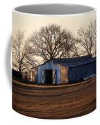 Winter's Cow Barn Coffee Mug
