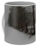 Winter's Fence Coffee Mug