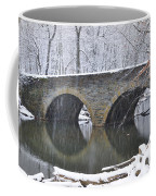 Wintertime At Bells Mill Road Coffee Mug by Bill Cannon