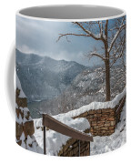 Wintertime At Hawks Nest  Coffee Mug
