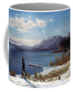 Wintertime Lake Tahoe In Winter The Sierra Nevada California Coffee Mug