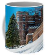 Wintery Lambert Castle Coffee Mug