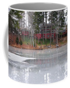 Wintery Reflection Coffee Mug by Frozen in Time Fine Art Photography