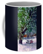 Wintry  Snowy Trees Coffee Mug