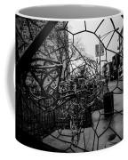 Wire Man In Sphere Coffee Mug