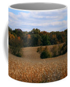 Wisconsin Fields In Late Summer Coffee Mug