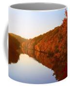 Wisconsin River Sunrise Coffee Mug