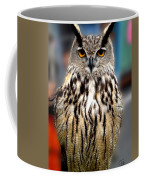 Wise Forest Mountain Owl Spain Coffee Mug