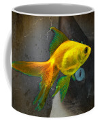 Wishful Thinking - Cat And Fish Art By Sharon Cummings Coffee Mug