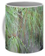Wispy Winter Raindrops Coffee Mug