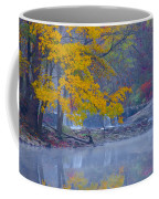 Wissahickon Morning In Autumn Coffee Mug