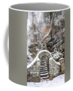 Wissahickon Steps In The Snow Coffee Mug