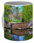 Wisteria In Bloom At Loose Park Bridge Coffee Mug
