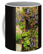 Wisteria On A Home In Zellenberg France 3 Coffee Mug