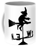Witch On A Broomstick Coffee Mug