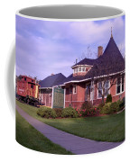 Witch's Hat Railroad Depot Coffee Mug