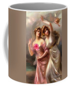 With A Rose Coffee Mug