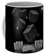 With The Lightest Touch Bw Coffee Mug