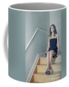 Within My Heart Coffee Mug by Evelina Kremsdorf