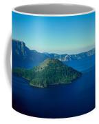 Wizard Island In Crater Lake, Oregon Coffee Mug