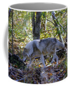 Wolf In The Woods Coffee Mug